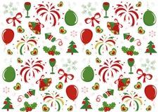 De textuur van Kerstmis Stock Foto