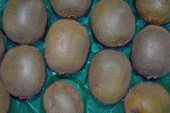 De Textuur van Kiwifruit Royalty-vrije Stock Foto's
