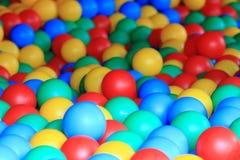 de textuur van kleurenballen Stock Afbeeldingen