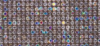de textuur van de kleurendiamant Royalty-vrije Stock Afbeelding