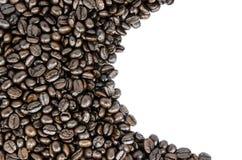 De textuur van koffiebonen Royalty-vrije Stock Fotografie