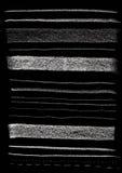 De textuur van krijttekens Royalty-vrije Stock Afbeelding