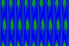 De textuur van krullende stelen met groen doorbladert royalty-vrije stock fotografie