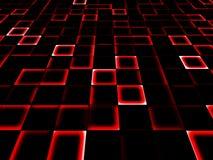 De textuur van kubussen royalty-vrije illustratie