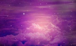 De textuur van de nachthemel stock foto