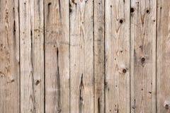 De textuur van oude houten voering scheept muur in Stock Afbeelding