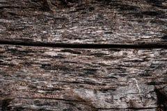 De textuur van de oude rotte boom met schorsbarsten en onregelmatigheden Volumebehang royalty-vrije stock fotografie