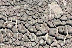 De textuur van de oude teer stock afbeelding