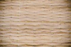 De textuur van de rietmat Royalty-vrije Stock Fotografie