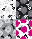 De textuur van rozen Stock Illustratie