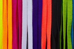 De textuur van schoenveters stock foto's