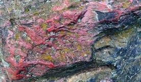De textuur van de steen Steentextuur of achtergrond Royalty-vrije Stock Afbeeldingen
