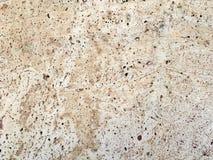 De textuur van de steentegel in bruin en romig wit Royalty-vrije Stock Afbeeldingen