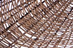 De textuur van de stroparaplu stock afbeeldingen