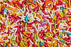 De textuur van suikergoed bestrooit Royalty-vrije Stock Afbeeldingen