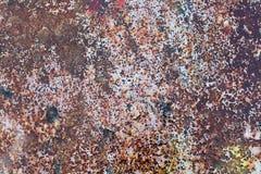De Textuur van Vuile Doorstane Plaat Royalty-vrije Stock Afbeelding