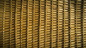 De textuur van a wattled rieten mand Een achtergrond, macro stock fotografie