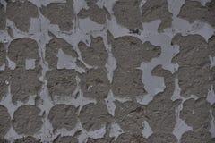 De textuur van witte muren met grijze vleugels Stock Fotografie