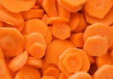 De textuur van wortelen Stock Foto