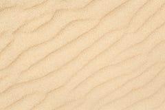 De textuur van zandgolven met diagonaal patroon Royalty-vrije Stock Afbeeldingen