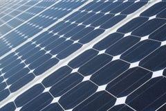 De Textuur van zonnepanelen Royalty-vrije Stock Foto's