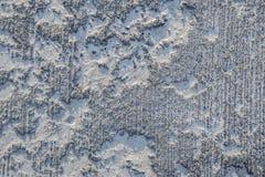 De textuur wordt gewist, beschadigde concrete deklaag stock fotografie