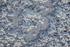 De textuur wordt gewist, beschadigde concrete deklaag royalty-vrije stock afbeelding