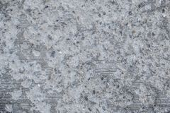 De textuur wordt gewist, beschadigde concrete deklaag stock foto