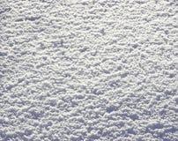 De textuur zonnige dag van de sneeuw Stock Fotografie