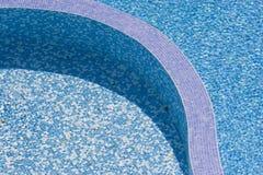 De textuur-zwemmende pool van het water Royalty-vrije Stock Foto's