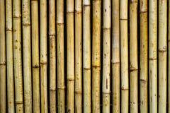 De textuurachtergrond van de bamboemuur , sluiten omhoog Stock Foto's