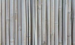 De textuurachtergrond van de bamboeomheining Royalty-vrije Stock Afbeelding