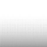 De textuurachtergrond van cirkel zwart-witte halftone punten voor abstract patroon en grafisch ontwerp Stock Afbeelding