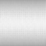 De textuurachtergrond van cirkel zwart-witte halftone punten voor abstract patroon en grafisch ontwerp royalty-vrije illustratie