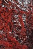 De textuurachtergrond van de aluminiumfolie Royalty-vrije Stock Foto's