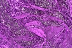 De textuurachtergrond van de aluminiumfolie Royalty-vrije Stock Foto