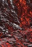 De textuurachtergrond van de aluminiumfolie Stock Foto