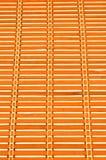 De textuurachtergrond van de bamboemat Royalty-vrije Stock Afbeelding