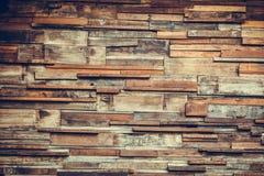 De textuurachtergrond van de hout houten muur, donkere houten muur Stock Afbeeldingen