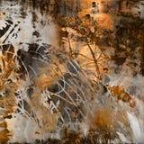 De textuurachtergrond van de kunst grunge Stock Fotografie