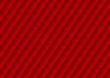 De textuurachtergrond van de luxe rode stoffering Stock Afbeelding