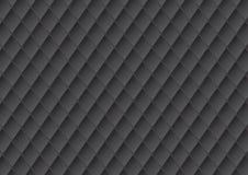 De textuurachtergrond van de luxe zwarte stoffering Royalty-vrije Stock Afbeelding