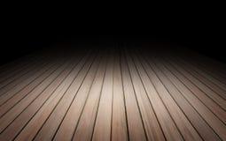 De textuurachtergrond van de plank houten vloer voor vertoning uw product royalty-vrije stock foto's