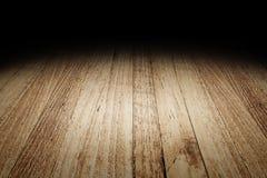 De textuurachtergrond van de plank houten vloer voor vertoning uw product, Moc Royalty-vrije Stock Foto's