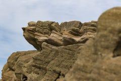 De textuurachtergrond van de rots Stock Fotografie