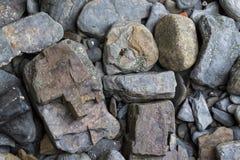 De textuurachtergrond van de rots Royalty-vrije Stock Afbeelding