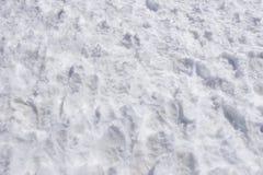 De textuurachtergrond van de sneeuw Royalty-vrije Stock Afbeeldingen