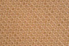 De textuurachtergrond van de stof Stock Foto
