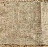 De textuurachtergrond van de zak Royalty-vrije Stock Afbeeldingen