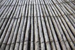 De textuurachtergrond van het bamboe Stock Afbeeldingen